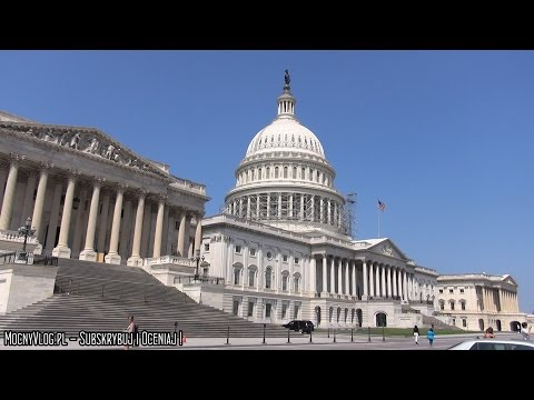 Washington, D.C. Capitol, Library of Congress, White House - USA VLOG 17