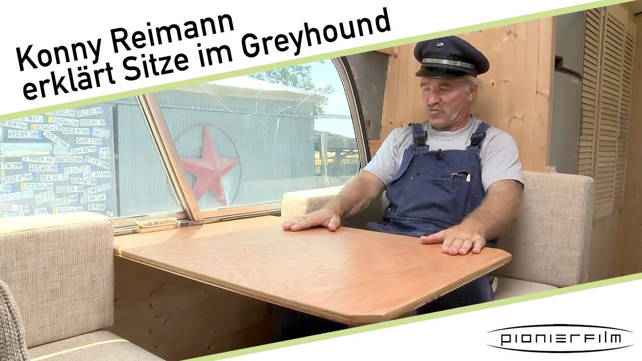 konny reimann erkl rt die sitzecke im greyhound youtube. Black Bedroom Furniture Sets. Home Design Ideas