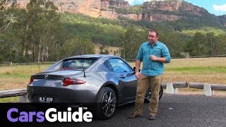 Mazda MX-5 RF 2017 review | first Australian drive video