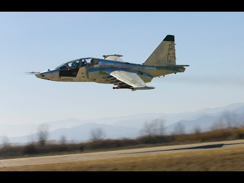 პირველმა მოდერნიზებულმა Su-25-მა