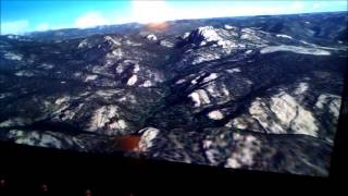 FSX Full motion flight sim Helicopter Tour of Mount Rushmore