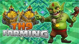Clash Of Clans Town hall 9 Farming Guide ! Th9 Farming Guides !!