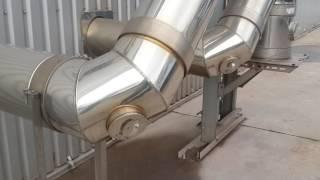 Как подключить два котла в один дымоход из нержавеющей стали(Купить дымоход и заказать монтаж можно в компании ТОВ