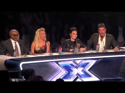 The judges comments on Carly's performances during the X Factor