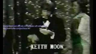 Keith Moon Accepting Beatles Award