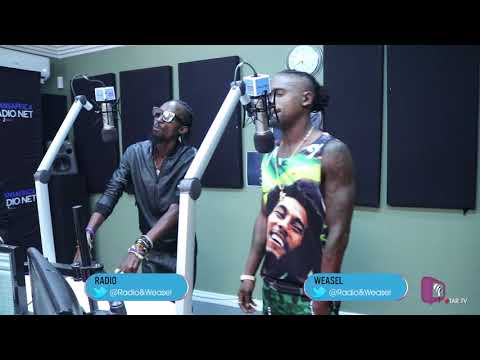 Radio & Weasel   Ugandan Duo On TheReUp With Ntokozo Botjie