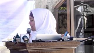 connectYoutube - Sitti Hataman at the 47th anniversary of the Jabidah massacre