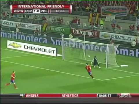 The Incredible Andres Iniesta Pass & Goal 2010