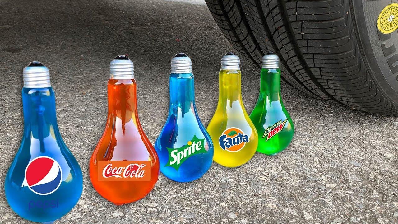Different Fanta, Coca Cola, Schweppes, Pepsi, Sprite Underground VS Mentos | Among Us
