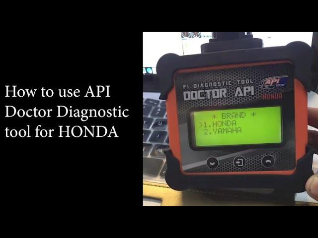 API Doctor Hybrid - How to use Honda #smart #garage #diagnostictools
