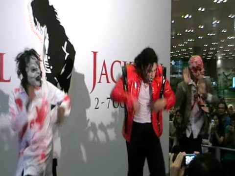 A Tribute To Michael Jackson by Edward Moss (Part 5)- Thriller