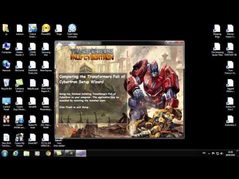 วิธีติดตั้ง Transformers Fall of Cybertron BY ThepGame.com