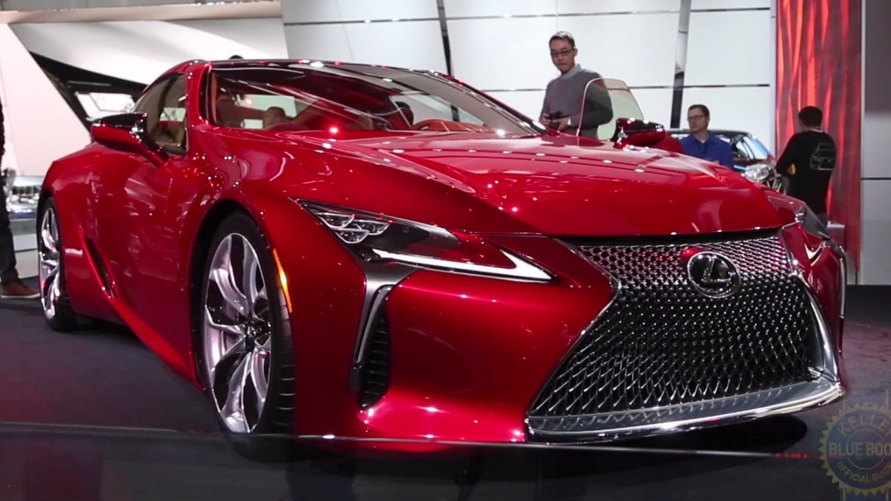 2018 Lexus LC 500 - 2016 Detroit Auto Show - YouTube