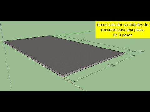 Como calcular cantidades de concreto cemento arena y - Como se echa un piso de cemento ...