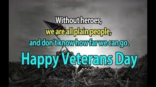 Veterans Day Quotes || Happy Veterans Day 2018