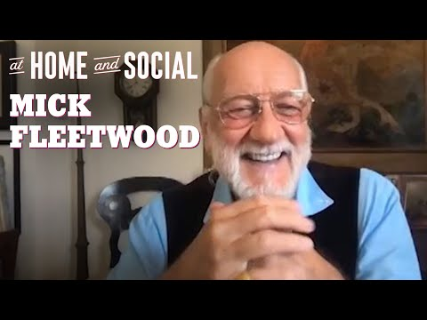Mick Fleetwood's Favorite Mac Memories + A Tribute to Peter Green | At Home and Social