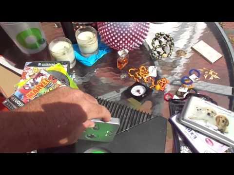 Video Games Jewelry Collectibles. Flea Market Garage Yard Estate Sale Finds Pick-Ups - 7/24/15