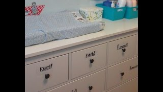 How To Organize Your Diaper Changing Station