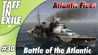 Atlantic Fleet |  Battle of Atlantic | Part 30 - Cruiser Sandwich
