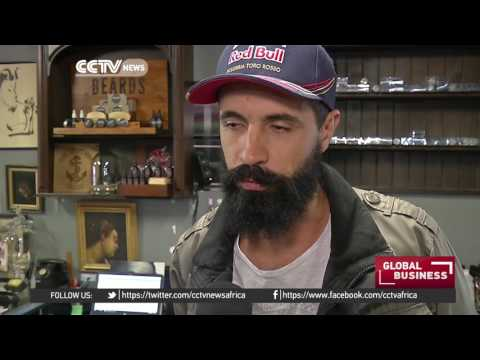 South African salon cashes in on popular beard grooming trend
