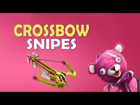 CROSSBOW SNIPES | DOUBLE CROSSBOW | CUPID'S ARROW - (Fortnite Battle Royale) thumbnail