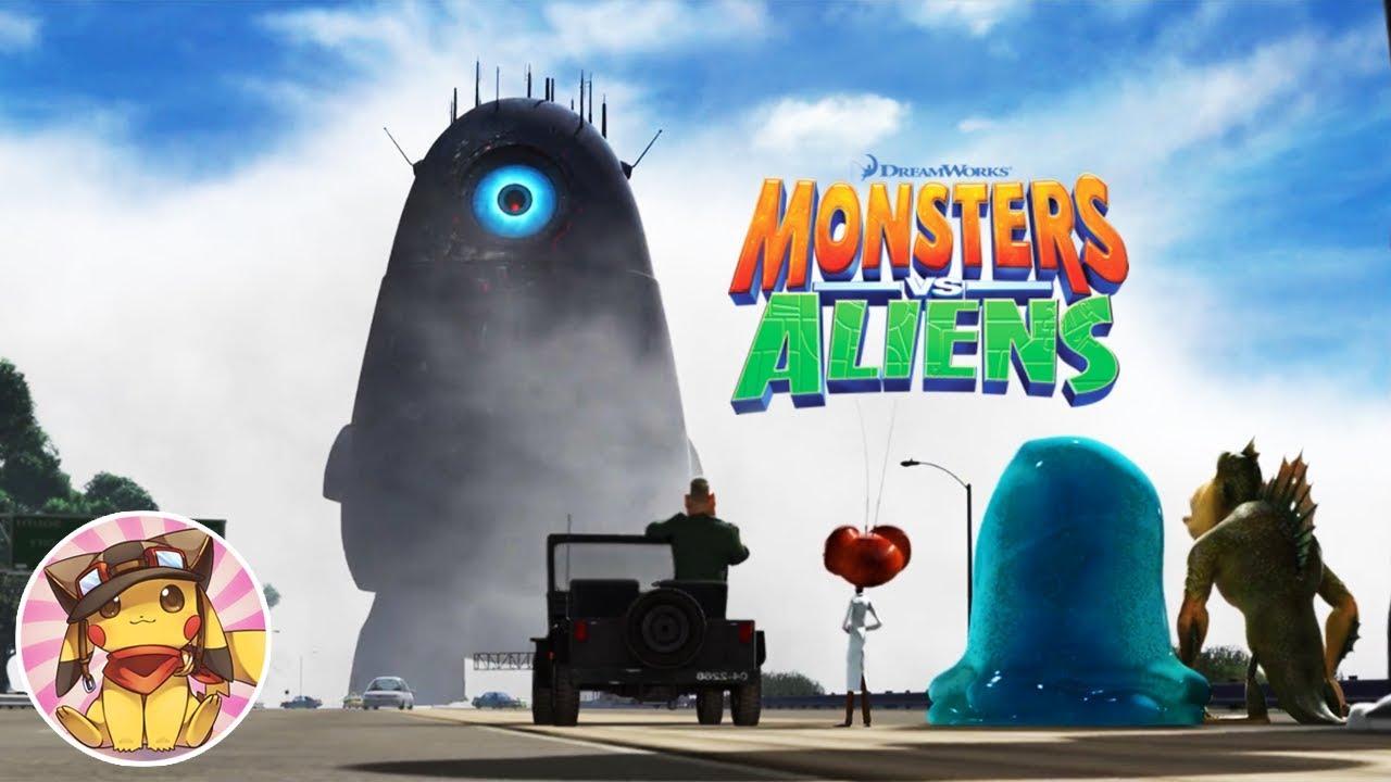 Monsters Vs Aliens Full Movie Game Walkthrough 1080p No Commentary Youtube