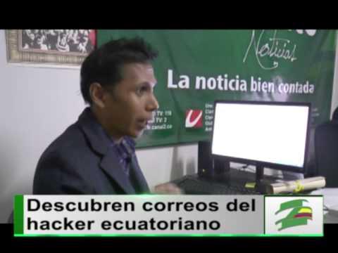 Exclusivo: los correos del hacker ecuatoriano capturado hoy