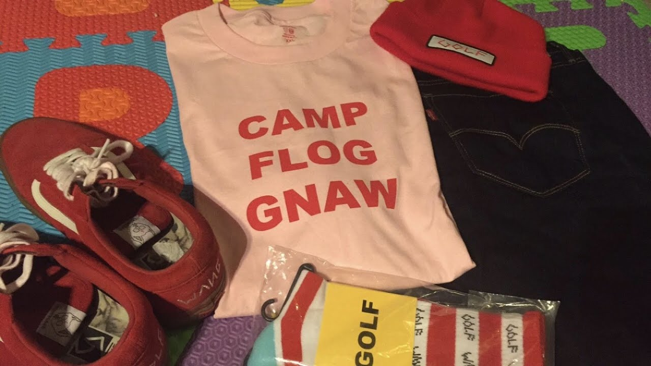 244d35c9b46038 Camp Flog Gnaw 2015 Counselor Tees - YouTube