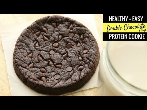 LOW CARB Double Chocolate Chip Cookies Recipe From Scratch