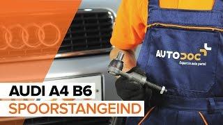 Hoe een spoorstangeind vervangen op een AUDI A4 B6 [HANDLEIDING]