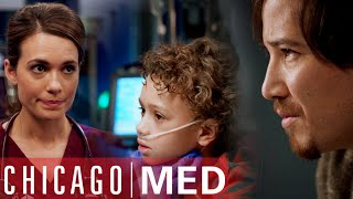 Father Unknowingly Infects His Son With His Car | Chicago Med
