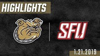 Bryant Mens Basketball Vs Saint Francis University Highlights 21