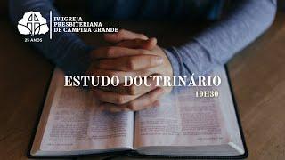 Idolatria, redenção e adoração | Presb. Cicero Pereira 18/02/2021