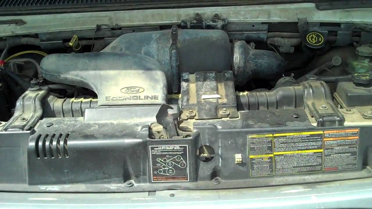 medium resolution of 1997 ford econoline van 211 engine start up mp4