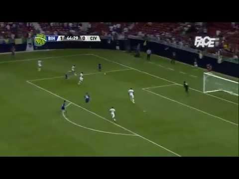Bosnia Herzegovina 2 - 1 Ivory Coast   Highlights   Road to Brasil