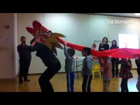 Children at Lansdale Montessori School celebrate Chinese New Year