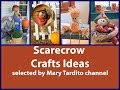 Scarecrow Crafts Ideas - Fall Crafts to Make and Sell -  Fall Decorating Ideas