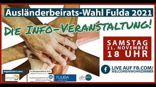Ausländerbeirats-Wahl 2021 in Fulda: Die Info-Veranstaltung