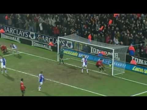Blackburn Rovers 4 Manchester United 3