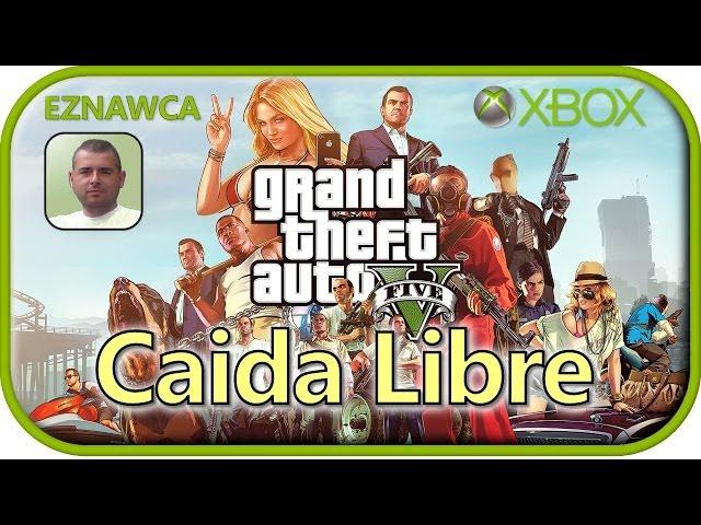 GTA V - #41 Caida Libre - Mega misja i zapieprzanie na Crossie - Lets Play PL, GTA 5