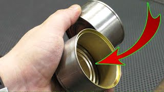 DON'T throw away the tin cans! Great idea with your own hands