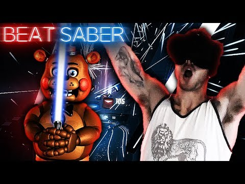 MORE FIVE NIGHTS AT FREDDY'S SONGS ON BEAT SABER! (With New Green Screen!!)