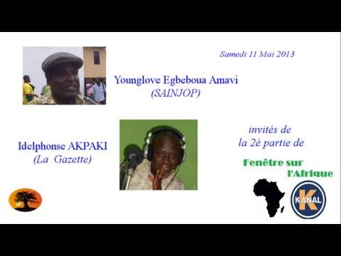 Fenêtre sur l'Afrique : Journée mondiale de la liberté de la presse, cas du Togo [11/05/2013]