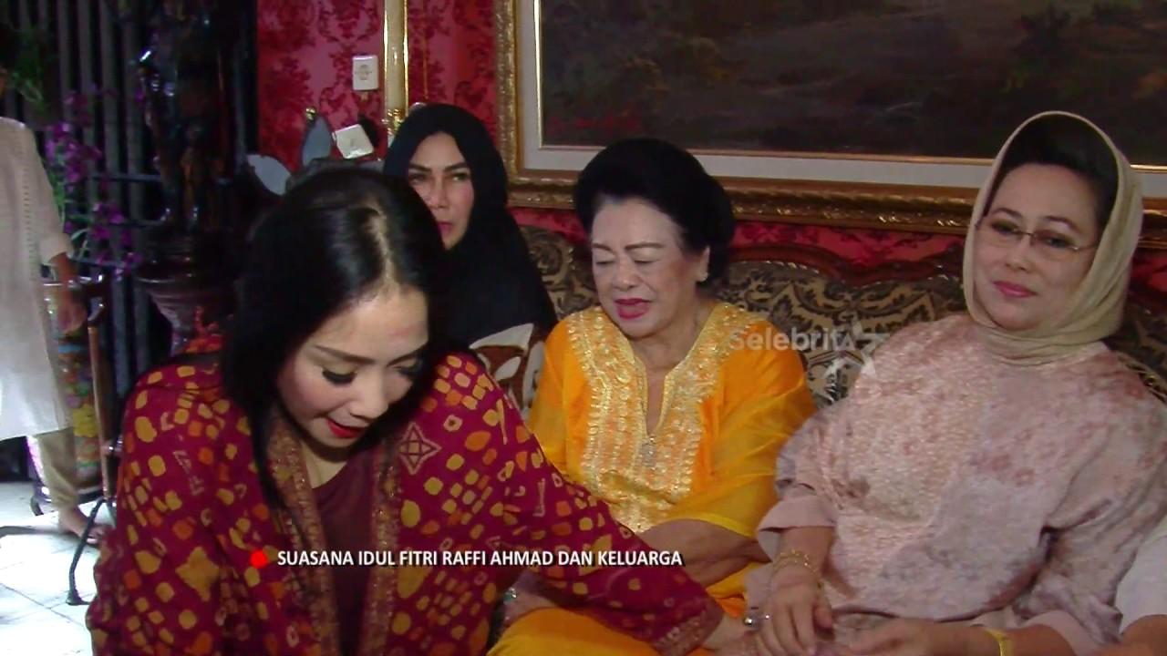 Suasana Lebaran Ala Raffi Ahmad & Nagita Slavina   Selebrita Pagi