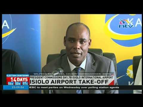 President Uhuru Kenyatta commissions Ksh. 1.78bn Isiolo international Airport