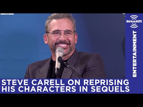 Steve Carell talks about reprising his characters in sequels