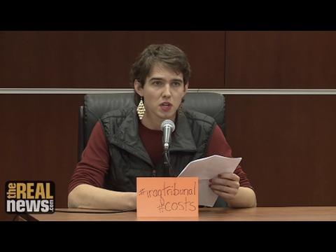 The People's Tribunal on the Iraq War, Day Two: Sam Koplinka Loehr