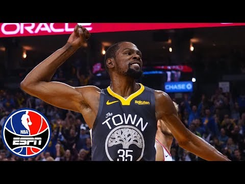 Kevin Durant, Klay Thompson end Warriors' losing streak | NBA Highlights