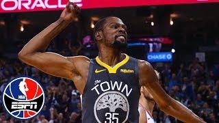 Kevin Durant, Klay Thompson end Warriors' losing streak | NBA Highlights