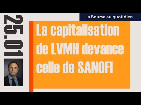 La Bourse Au Quotidien - La Capitalisation  De LVMH Devance  Celle De SANOFI